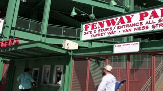 Gate D entrance to Fenway Park