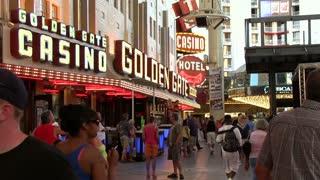 Golden Gate casino on Fremont Street