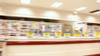 Grocery store time lapse
