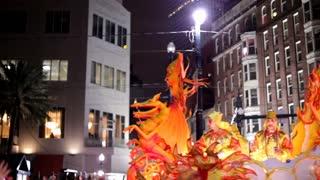 Hermes Parade Float in 2012 Mardi Gras