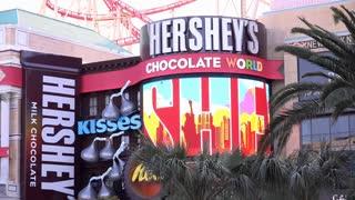 Hershey Chocolate World on Las Vegas Boulevard 4k