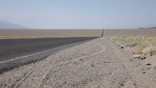 Highway in Desert Field
