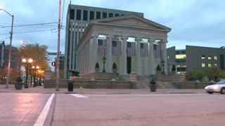 Historic Dayton Courthouse in the Evening