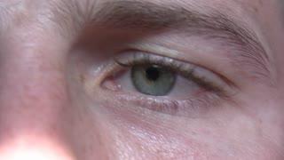 Holding Eyeball open
