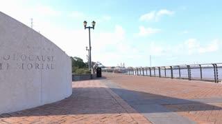 Holocaust Memorial in New Orleans Louisiana 4k