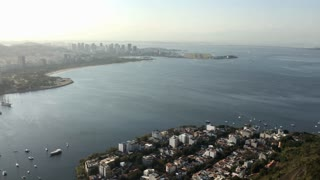 Housing in Rio de Janeiro seen from above