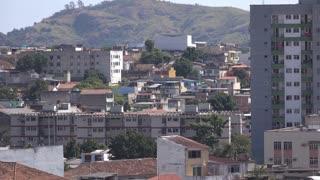 Housing of Rio de Janeiro city downtown 4k