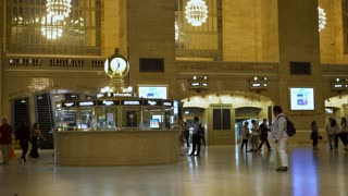Information station at Grand Central Terminal 4k