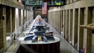 Inside the Hoover Dam Generators