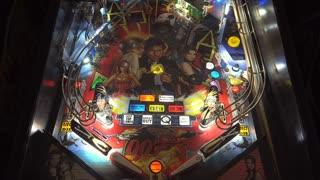 James Bond 007 Pinball game at arcade 4k