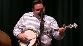 Joe Mullins Playing Banjo