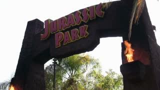 Jurrasic Park Entrance Universal Studios