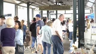 Kansas City Farmers Market on the weekend 4k