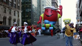 Kool-Aid Man in Macy's parade