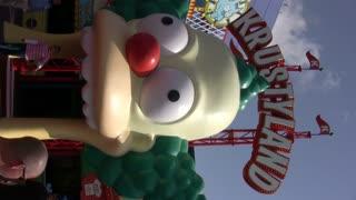 Krustyland Universal Studios Vertical