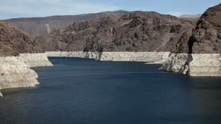 Lake Mead entering Hoover Dam Area
