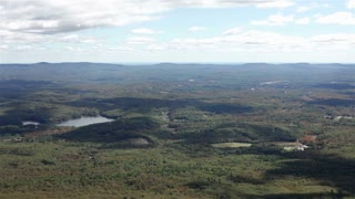 Landscape view from Mount Monadnock