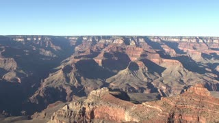 Large open area of Grand Canyon