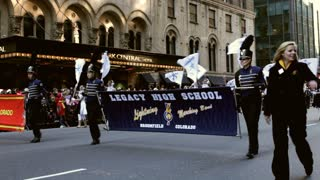 Legacy high school in Macy's Parade