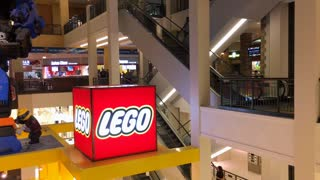 Lego store at Mall of America 4k