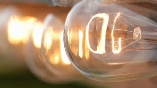 Line of Lights macro shot
