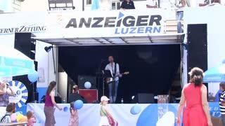 Live band at Lucerne Fest 2012