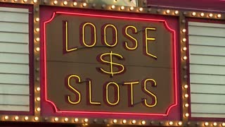 Loose Slots neon sign at casino
