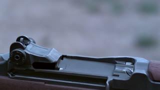 M1 Garand cartridge eject