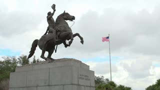 Major General Andrew Jackson Statue in NOLA