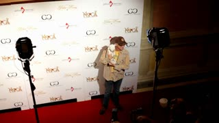 Marc McClure at poker room charity event