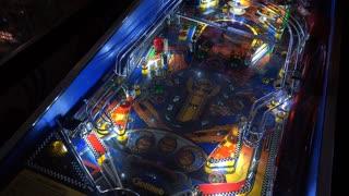 Mario Andretti Pinball game 4k
