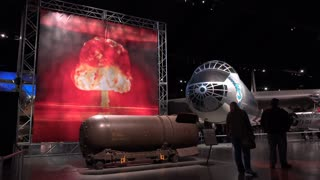 Mark 41 Thermonuclear Bomb at Air Force Museum 4k