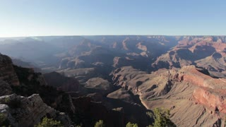 Mather point at Grand Canyon Ultra Wide shot