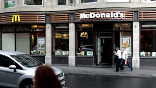 Mcdonald's in Cologne Germany