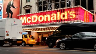 McDonald's in Downtown New York City