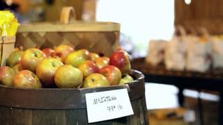 McIntosh Apples for sale at market