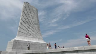 Memorial for Wright Brothers in Kitty Hawk