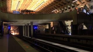 Metro in Washington DC enters terminal