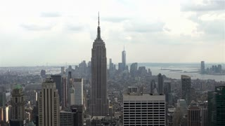 Midtown Manhattan in New York City skyline view