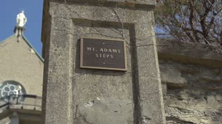 Mount Adams steps at Holy Cross Immaculata