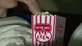 Movie Nite Popcorn Cup