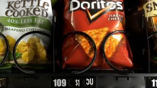 Nacho Cheese Doritos purchased from vending machine