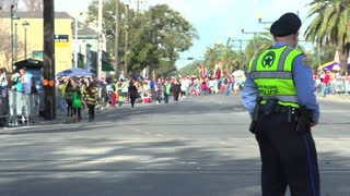 New Orleans Police at Endymion parade