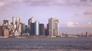 Hudson Bay New York.New York Manhattan Hudson Bay Stock Video Footage Storyblocks Video