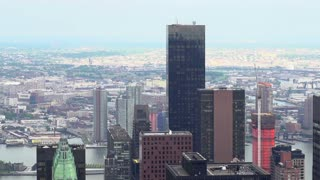 New York City Skyscrapers in slow motion
