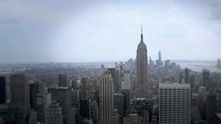 New York City with focus on Empire State Building
