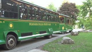 Niagara Falls state park transportation bus