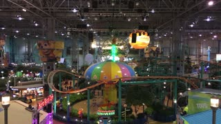 Nickelodeon Universe inside Mall of America at the center