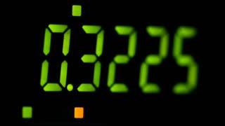 Numbers on Digital Readout