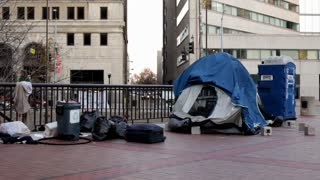 Occupy Dayton Protestors camp in downtown